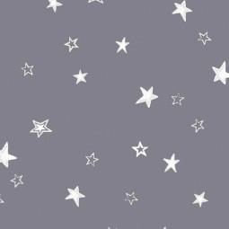 """Сменный чехол для подушки Theraline 190 (""""Звездное небо"""" серый)"""