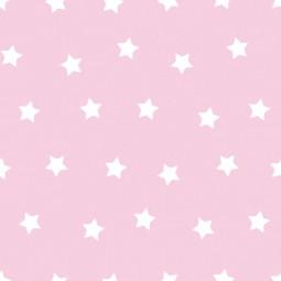 Сменный чехол для подушки 170 Звезды розовый