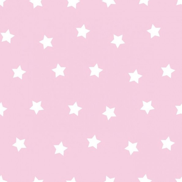 Сменный чехол для подушки 170 (звезды розовый)