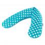 Подушка для беременных Theraline 190 см кружочки бирюзовый