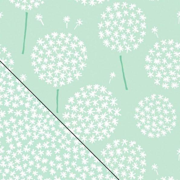 Сменный чехол для подушки Theraline 190 см Одуванчик зеленый