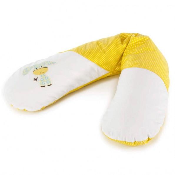 Подушка для беременной Theraline ослик желтый