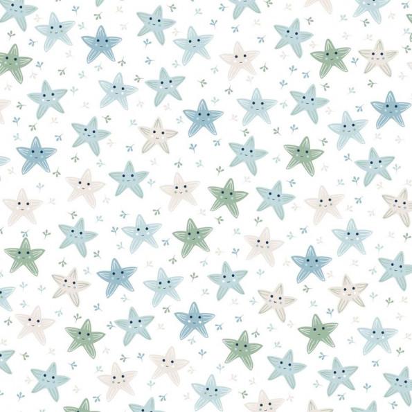 Сменный чехол для подушки Theraline 190 см Морские звезды