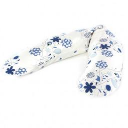 Подушка для беременных Theraline 190 см Букет синяя