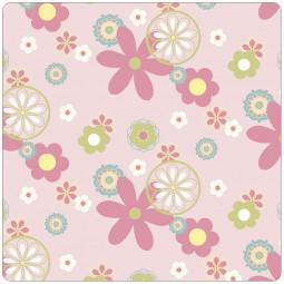Сменный чехол для подушки Theraline 190 (цветы розовый)