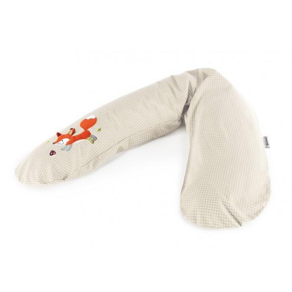 Подушка для беременных и кормящих Theraline 190 см Лиса бежевая