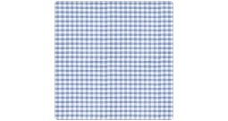 Чехол 190 см (Клеточка голубой)