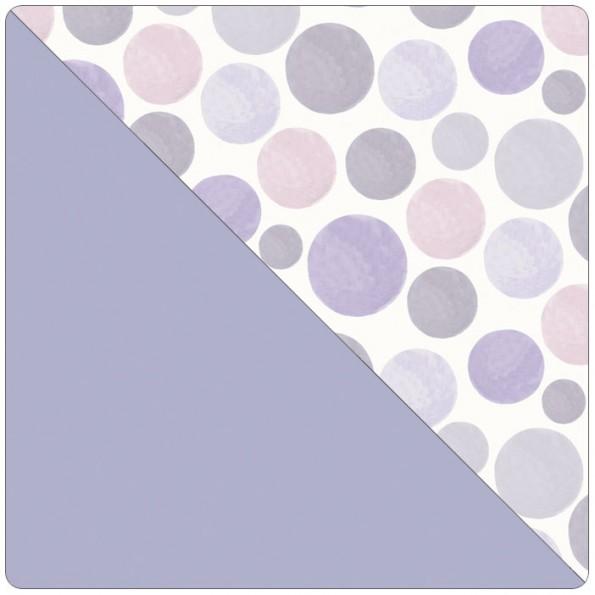 Сменный чехол для подушки Theraline 190 (кружочки фиолетовый)