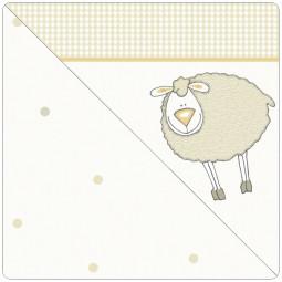 Сменный чехол для подушки Theraline 190 (овечка бежевый)