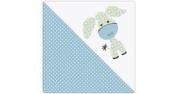 Сменный чехол для подушки Theraline 190 (ослик голубой)