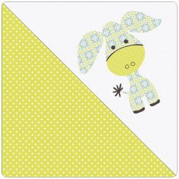 Сменный чехол для подушки Theraline 190 (ослик желтый)