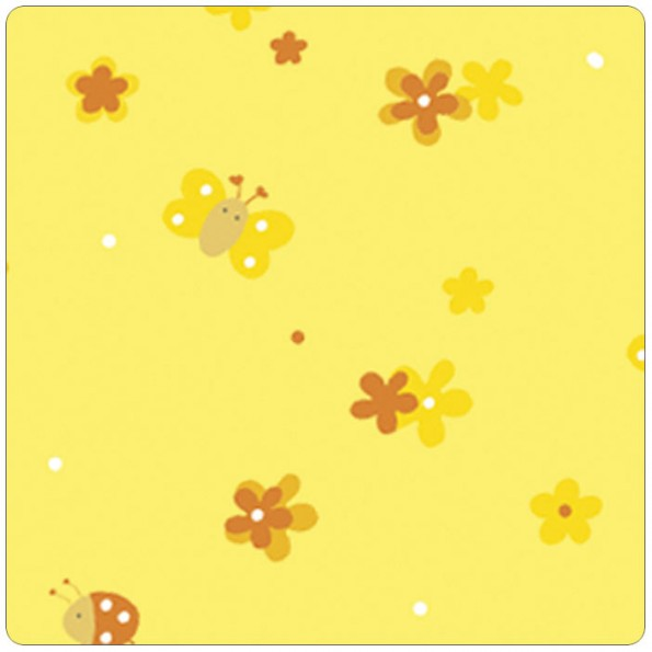 Сменный чехол для подушки Theraline 190 (поляна желтый)