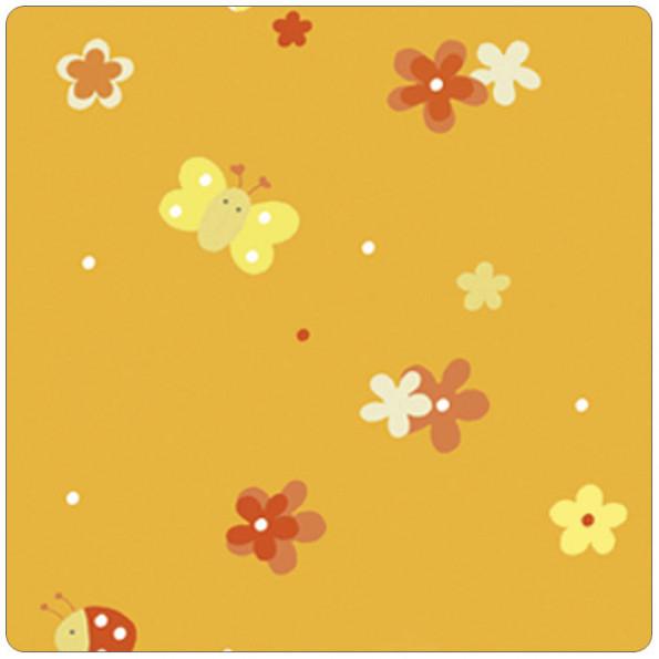 Сменный чехол для подушки Theraline 190 см мягкий флис (поляна оранжевый)