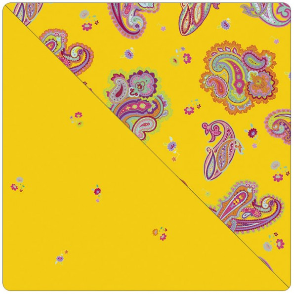 Сменный чехол для подушки Theraline 190 (узор желтый)