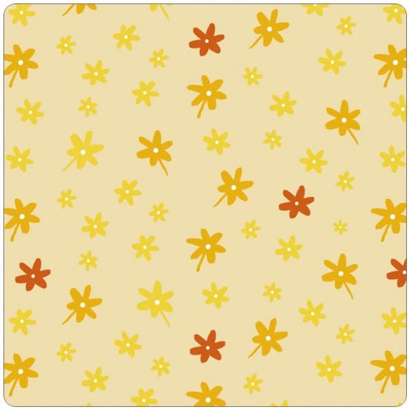 Сменный чехол для подушки Theraline 170 (цветочки желтый)