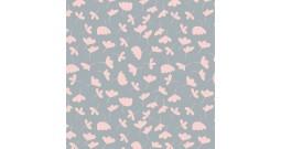 """Сменный чехол для подушки Theraline 190 (""""Нежные цветы"""" серый)"""