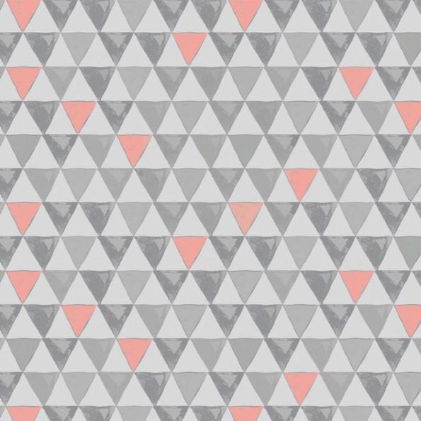 """Сменный чехол для подушки Theraline 190 (""""Треугольный микс"""" серый)"""