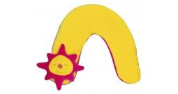 Детская шейная подушка Theraline большая (солнце)