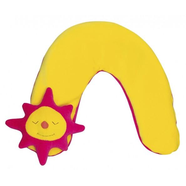 Детская шейная подушка Солнце малая
