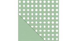Сменный чехол Theraline 190 см (кружки зеленый)