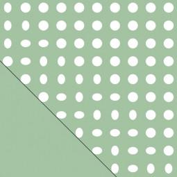 Сменный чехол для подушки Theraline 190 см Кружки зеленый