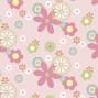 Подушка для беременных Theraline 190 см цветы розовая